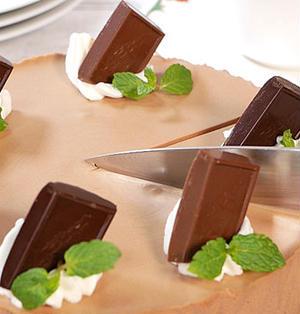 チョコレートムースチーズケーキ
