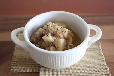 白いんげん豆と豚ロースのことこと煮