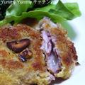 めちゃうま☆こま切れ肉で作るハムチーズカツレツ♪ by ゆみぴいさん