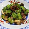 四角豆の中華風炒め