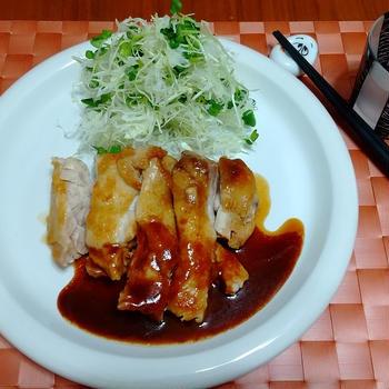 鶏の味噌照り焼き & リフォーム話28