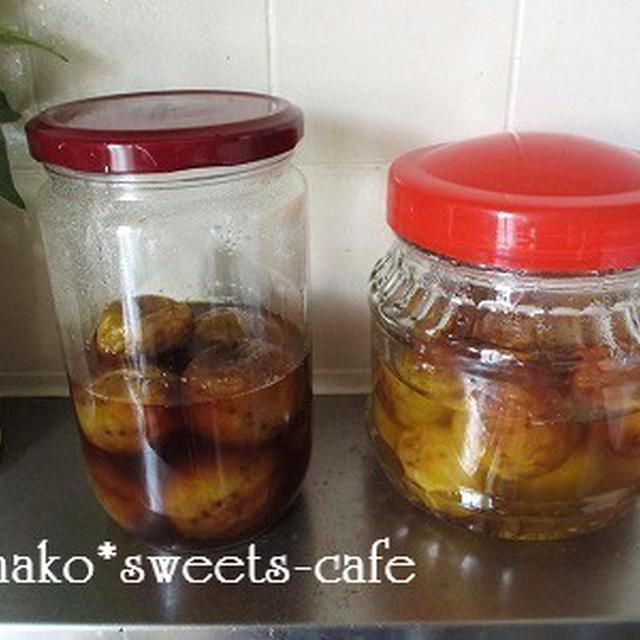 梅シロップの発酵