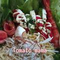 『モッツァレラレシピコンテスト』インスタントラーメン☆サラダ by とまとママさん