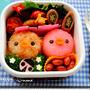 小鳥ちゃんのお弁当(キャラ弁、デコ弁)