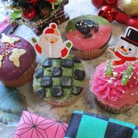 クリスマス子供喜ぶ♡簡単!食べて安心!鬼滅の刃モチーフ5種!米粉蜂蜜マフィン♪