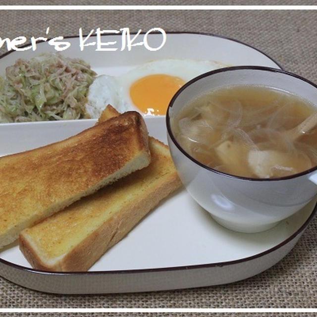 白菜の成長 ~レシピは、『元気が出る朝食レシピ』です~
