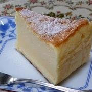 牛乳パックでおやつ作り「豆腐入りスフレチーズケーキ」