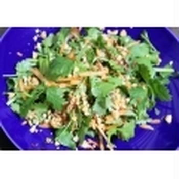 パクチーの タイ風サラダ