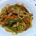 ナポリタン風カレースパゲティ
