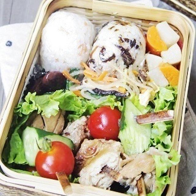 冷やし焼き鶏弁当  MOCO'Sキッチンレシピ