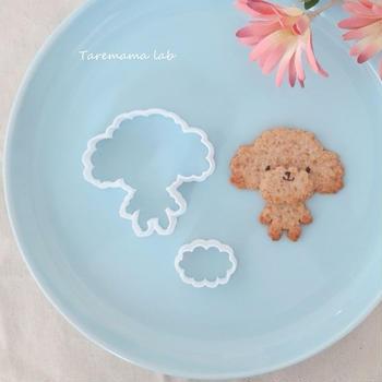 トイプードルクッキー型