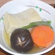 高野豆腐の煮物 by 梅の実学園さん