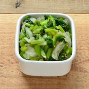 小鉢やお弁当に。野沢菜漬けと大根の和え物