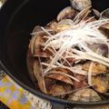 あさりの美味しい季節に「豆豉蒸し」。