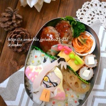 【キャラ弁】スプラトゥーン2のお弁当
