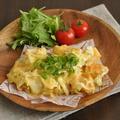 春キャベツと厚揚げの味噌チーマヨ包み