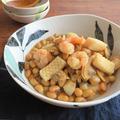 シーフードミックスの旨味たっぷり◎簡単和総菜☆大豆煮