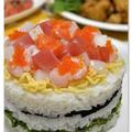 雛祭りのちらし寿司・・・*