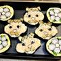 11月21日 お花とリスの巻き寿司