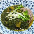 ほうれん草と高野豆腐のカレー