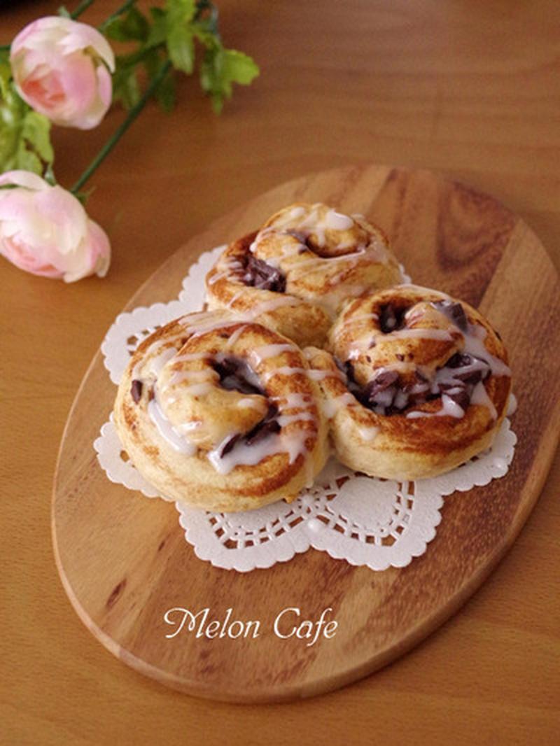 フライパン ホット ケーキ パン ミックス ちぎり フライパンとホットケーキミックスで作る『りんごのケーキ』