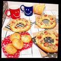 〜生ハムピザ〜*ドーナツ形で食べやすい❣️