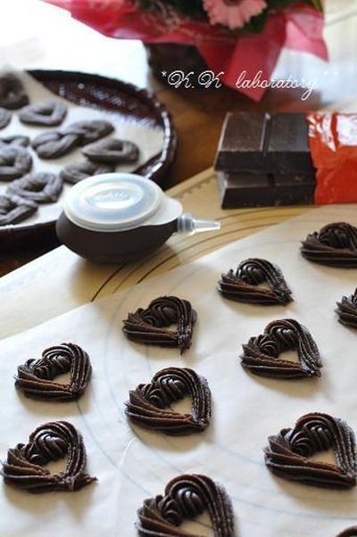 ... ☆簡単!チョコサンドクッキー