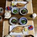 魚の干物で和食ごはん。すだちジュースその後♪