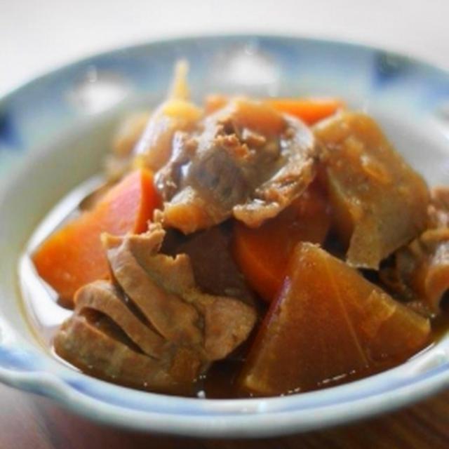 砂肝の濃厚味噌煮込み