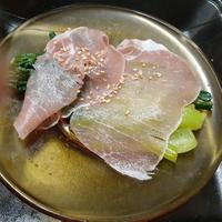 小松菜のわさびあえ、生ハムとともに ぐんまクッキングアンバサダー(3期)