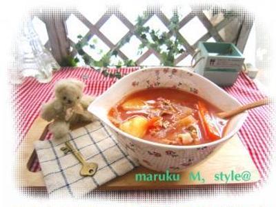 トマトの和風シチュー&リゾット!(何故だか?低カロリー)