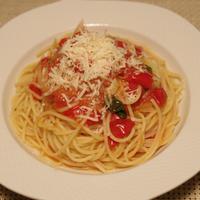 アメーラトマトのスパゲティ