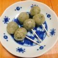 【簡単和菓子】もっちもち☆茶葉でおしゃれ団子