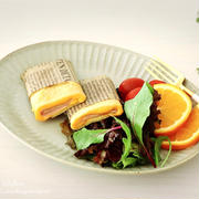 【オートミールレシピ】ミキサーで1発‼︎簡単生地でハムチーズブリトー