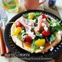 朝ごはんや休日のブランチに♪「サラダパンケーキ」おすすめレシピ
