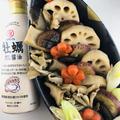 きのこと根菜のまろやか煮物 牡蠣だし醤油ときのこの旨味がギュッ