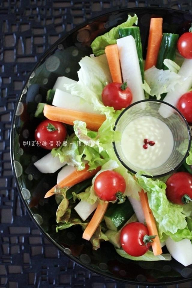 1.スプレッドタイプのチーズと生クリームを使って。