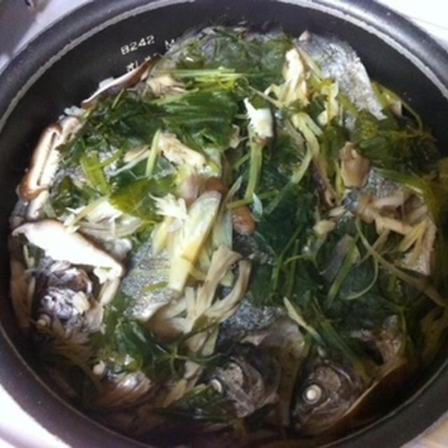 カンタン川魚の炊き込みご飯