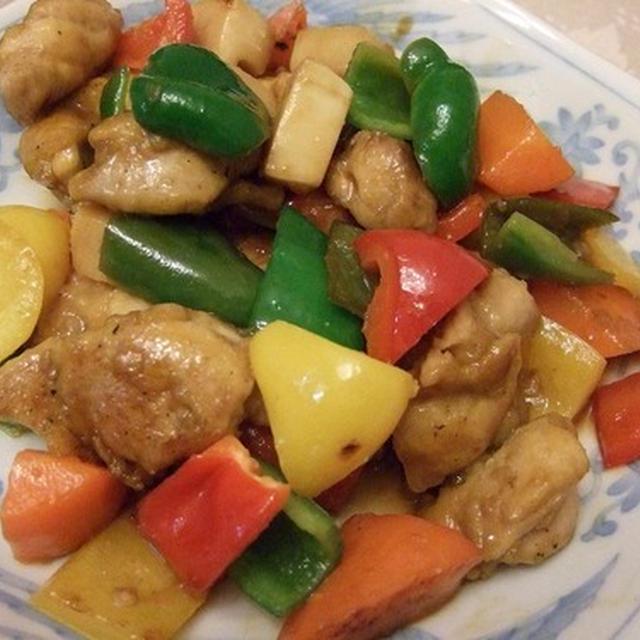 野菜たっぷり中華 鶏もも肉と野菜炒め黒酢風味ほか