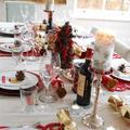 食べて飲んで!ハッピークリスマス♪(1)テーブルコーディネート編