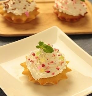 【レシピ】白玉ケーキ