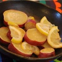 チリ産レモンで♪簡単美味しい♪♪さつまいものレモン煮☆