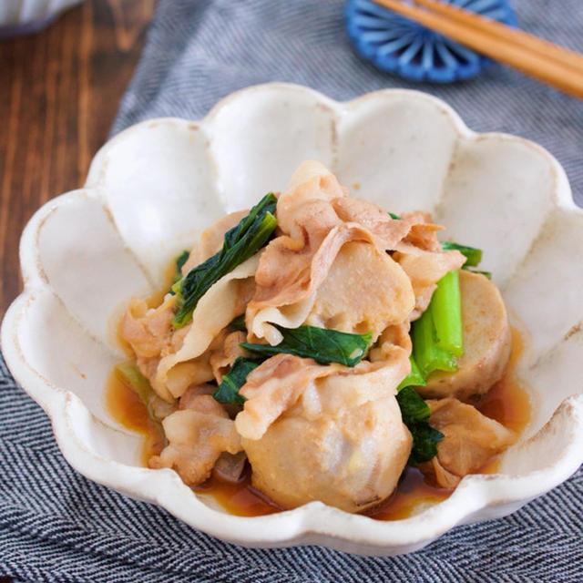 材料入れて煮るだけ10分♪ご飯がすすむ♪『豚バラと里芋のこってり甘辛煮』