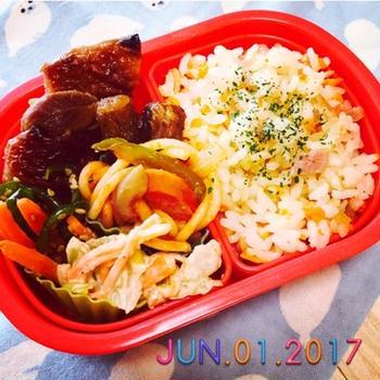 ★お弁当の日④〜5歳誕生日スライド弁当〜☆