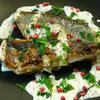 ☆焼き秋刀魚の粒マスタードマヨソース♪