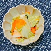 季節の野菜のあっさり漬け レシピ