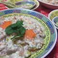 中国家庭料理◆くずし豆腐&豚肉のスープ煮 by さちくっかりーさん