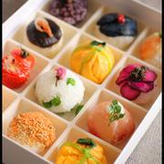お花見弁当*手まり寿司10種類*