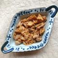 時短鶏ももとレンコンの甘辛味噌炒め(鶏肉、鶏もも肉)