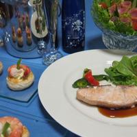 秋鮭のソテーポン酢ソース  「澪と楽しむパーティーレシピ」